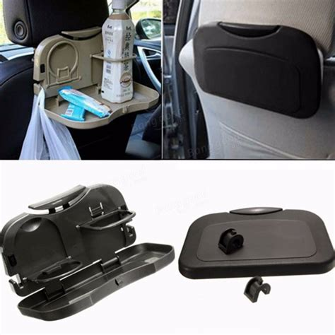car seat cup holder canada car back seat folding table drink food cup tray holder