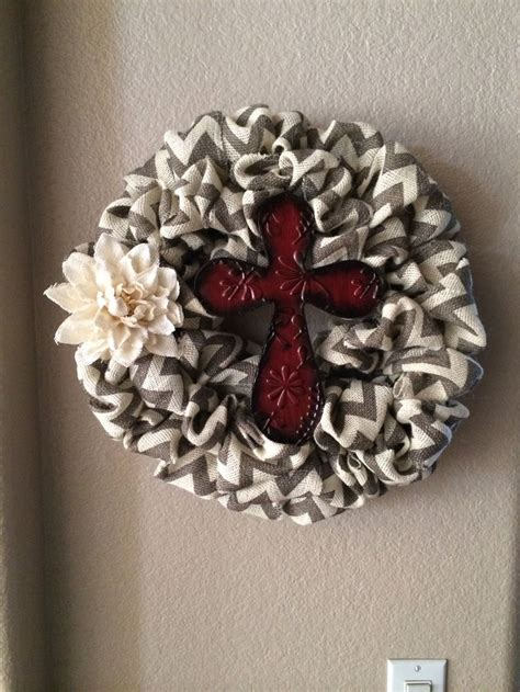Burlap wreath diy wreaths pinterest