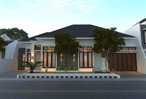 model rumah minimalis mewah  gaya modern  lantai tampak depan desain rumah minimalist