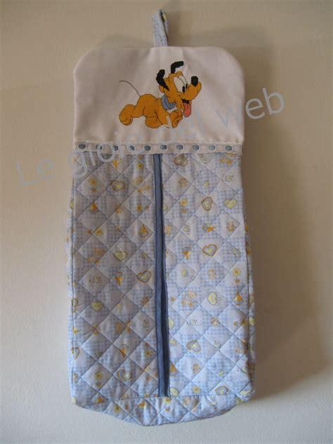 porta pannolini in stoffa porta pannolini pluto baby su misshobby