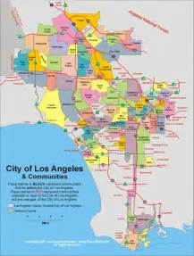 map of los angeles california area los angeles rent map