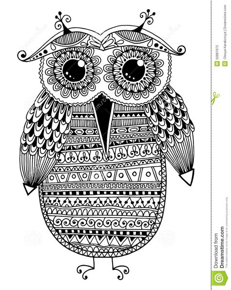 imagenes hipsters en blanco y negro dessin ethnique original noir et blanc d encre de hibou