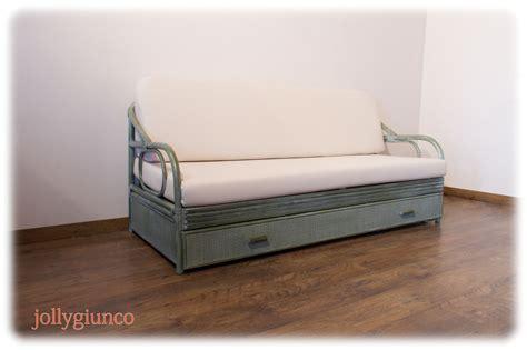 divano in rattan produzione divani letto in rattan midollino giunco