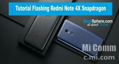 tutorial flash redmi 4x cara flash redmi note 4 4x snapdragon mido dengan