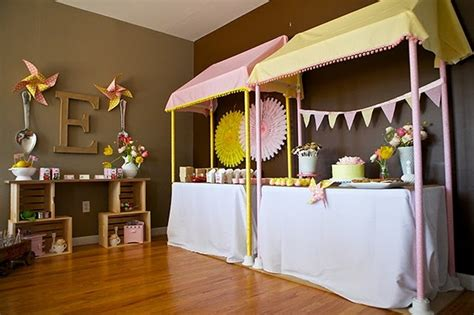stand easy awning very easy diy awning for an indoor lemonade stand http