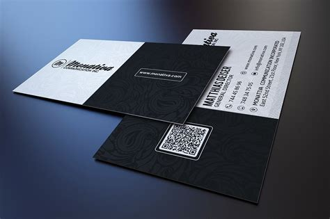 black and white business card business card templates