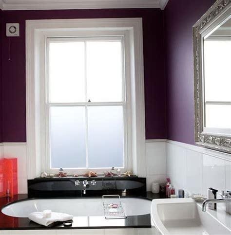 Purple And Green Bathroom by Purple Color In The Interior Home Interior Design