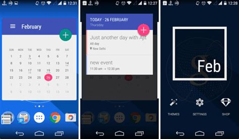Best Calendar Widget Android 5 Best Free Calendar Widgets For Android