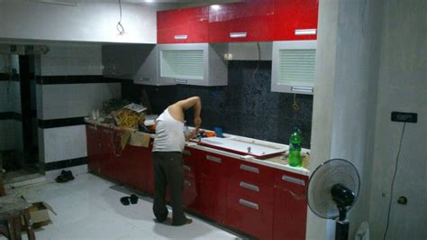 modular kitchen construction in delhi india