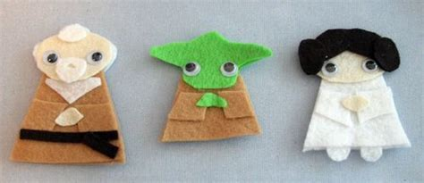 Wars Origami Finger Puppets - wars paper bag crafts