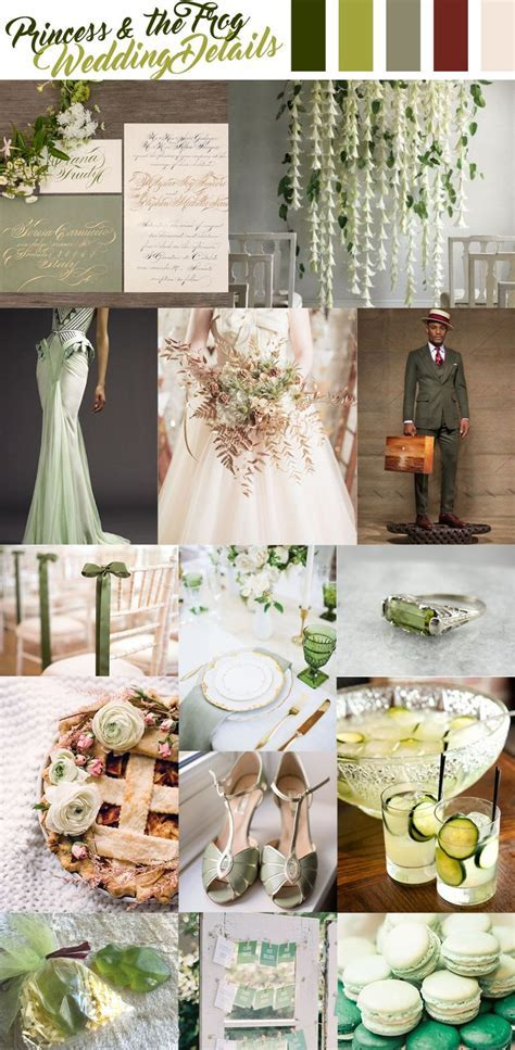 tiana, princess and the frog wedding inspiration   wedding
