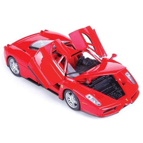 Burago Enzo Model Car Limited Edition 1 maisto enzo assembly line metal kit 1 24 scale kit maisto from jumblies models uk