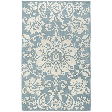 Pier One Outdoor Rugs Marcela Floral Rugs Smoke Blue Pier 1 Imports