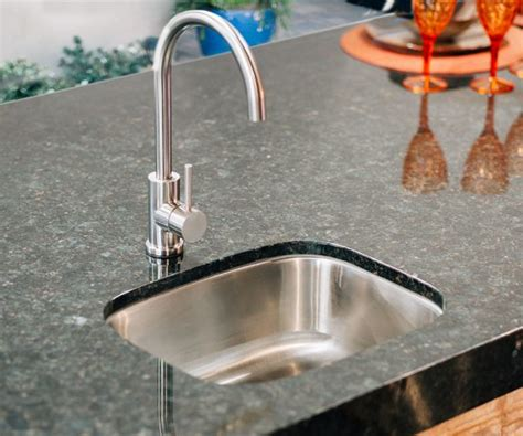 outdoor kitchen sink faucet under mount sink with faucet for your outdoor kitchen