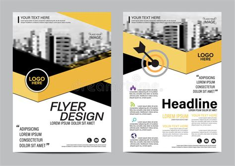 leaflet layout download brochure layout design template annual report flyer