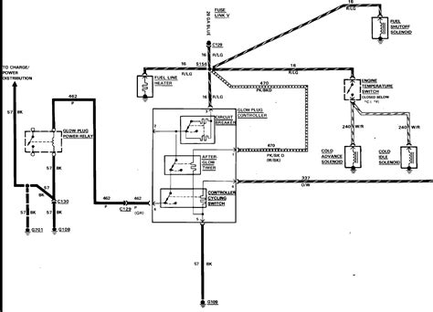 i need a wire diagram for the glow relay to a 84 f
