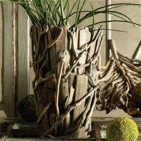 Driftwood Vase by Seaside Inspired Decor Driftwood Oceans Inspiration
