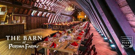top 20 wedding venues in new jersey perona farms among top 20 nationally for barn weddings