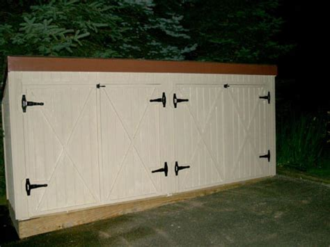 How To Build A Garbage Shed build a trash shed hgtv