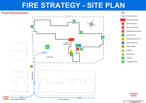 strategy plan layout fire plans original cad solutions