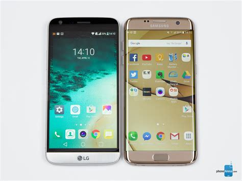 G Samsung Mobile Lg G5 Vs Samsung Galaxy S7 Edge