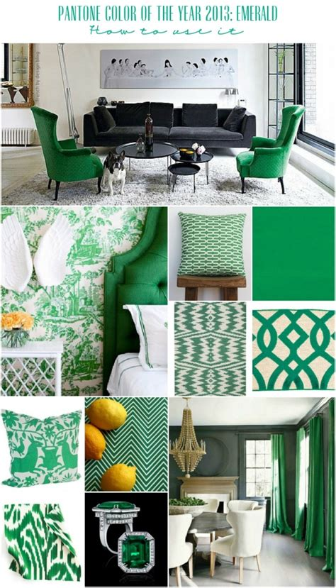 color your home emerald green the decollage 25 best ideas about pantone green on pinterest pantone