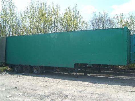roller bed trailer roller bed stepframe box trailers for sale