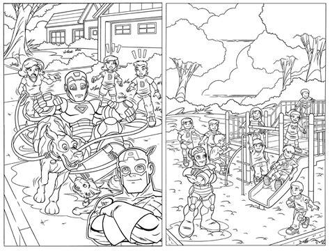 Marvel Super Hero Squad Az Coloring Pages Az Coloring Pages Squad Coloring Pages To Print