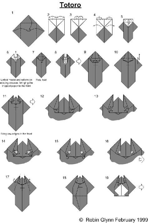Origami Totoro - tokyo daydreamer origami totoro