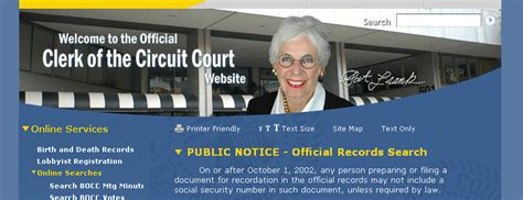 Hillsborough Fl Court Records Hillsborough County Clerk Of Court Records