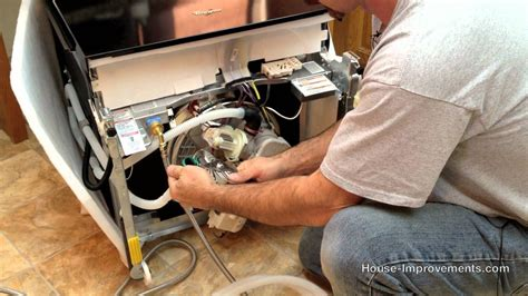 How To Replace Your Kitchen Faucet by How To Replace Or Install A Dishwasher Youtube