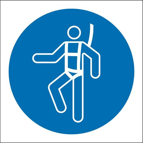 safety harness safety harness signs from key signs uk
