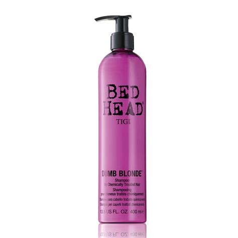 tigi bed head tigi bed head dumb blonde shoo 400ml feelunique