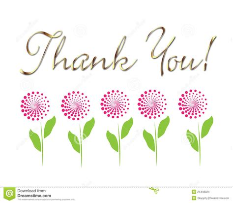 card thank you vector stock vector image of drawing
