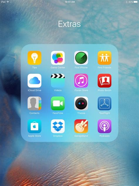 iphone layout ios 9 new in ios 9 a larger ipad folder layout