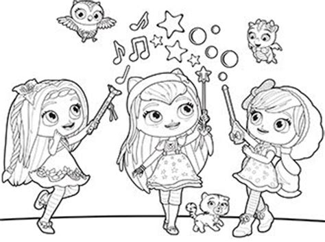 little charmers coloring pages nick jr 50 best images about preschool little charmers on