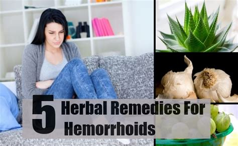 best herbal remedies for hemorrhoids how to treat