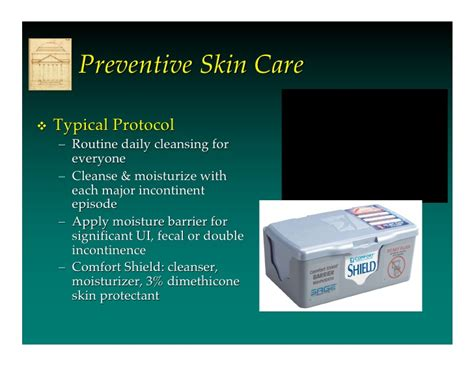 comfort care protocol incontinence associated dermatitis by prof dr mikel gray