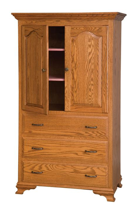 3 drawer armoire heritage 3 drawer armoire ohio hardword upholstered