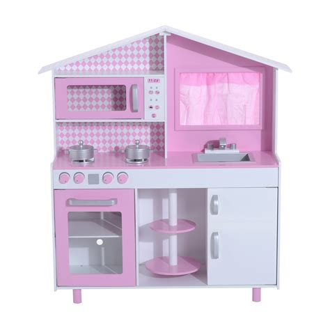 cucine per bambini homcom cucina giocattolo per bambini con accessori in