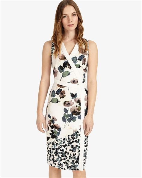 elisha dress by elisha floral dress multi coloured phase eight