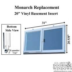 monarch replacement basement window insulated basement