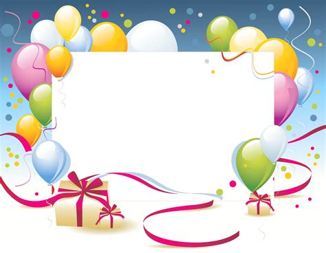 bday templates happy birthday card template transparent png stickpng