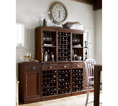 pottery barn red bar cabinet modular bar cabinet with 1 wine hutch 2 open hutch