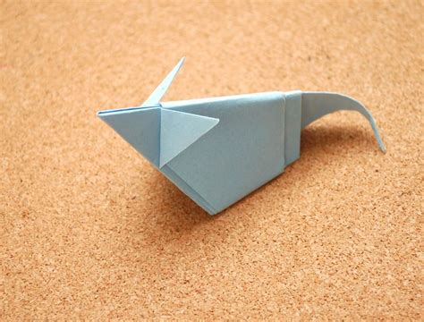 Origami Mouse - make an origami mouse origami and mice