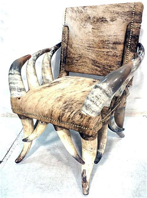 horn chair what s the of a steer horn chair auction finds