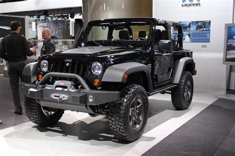 Jeep Black Ops Detroit 2011 Jeep Wrangler Call Of Duty Black Ops Edition
