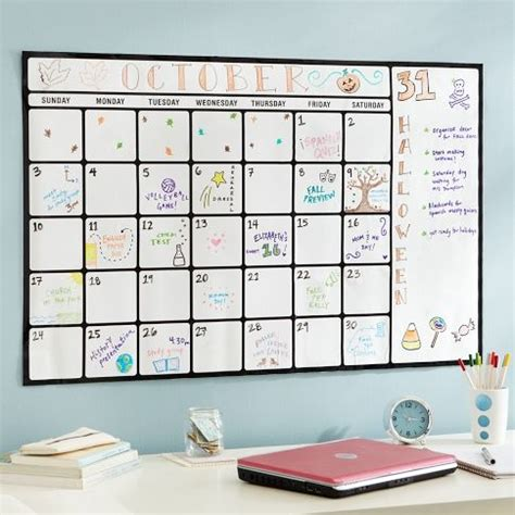 how to make a calendar on your whiteboard 25 best ideas about erase calendar on