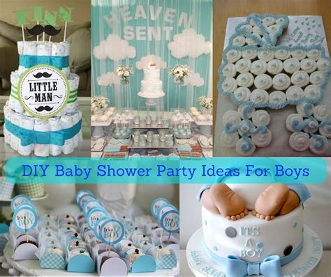 Ideas Baby Shower by Diy Baby Shower Ideas For Boys Hip Who