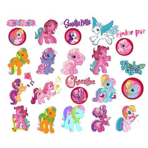 Print Cut Princess Academy pony clip 75